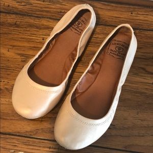 Lucky ballet flats